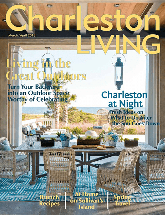 Charleston Living March April 2018 Spring Cover-min